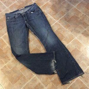 Big Star Casey K boot cut jeans size 31 long